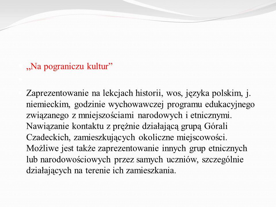 """""""Na pograniczu kultur"""