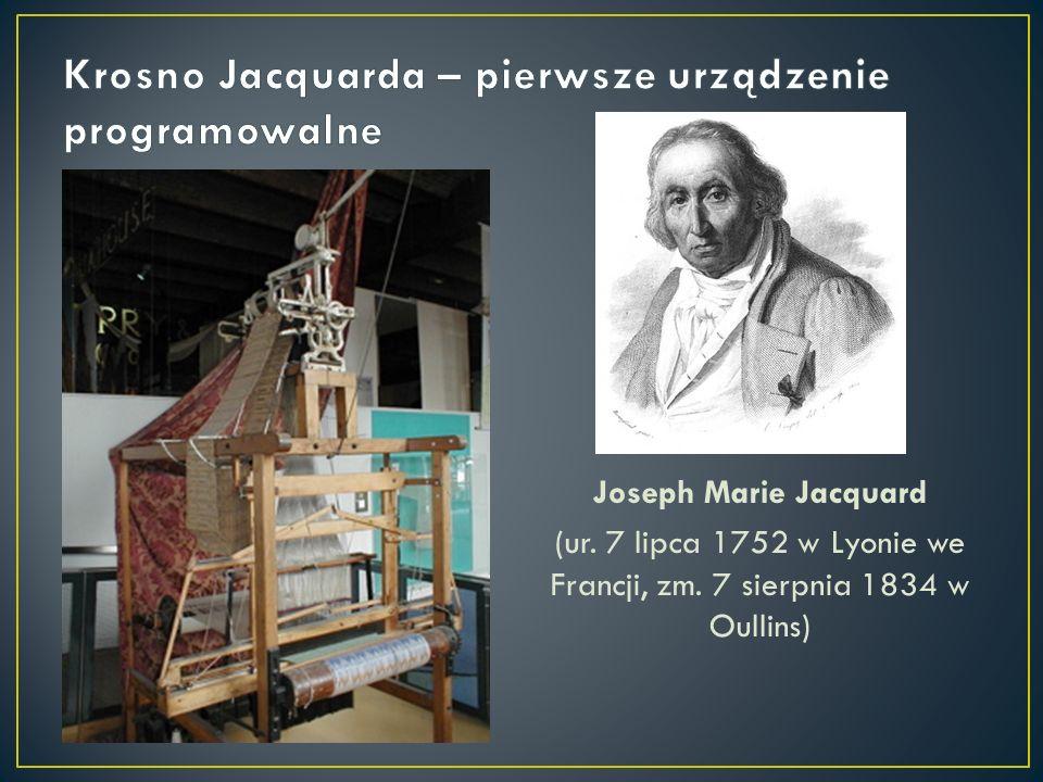 Krosno Jacquarda – pierwsze urządzenie programowalne