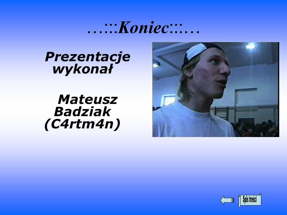 Mateusz Badziak (C4rtm4n)