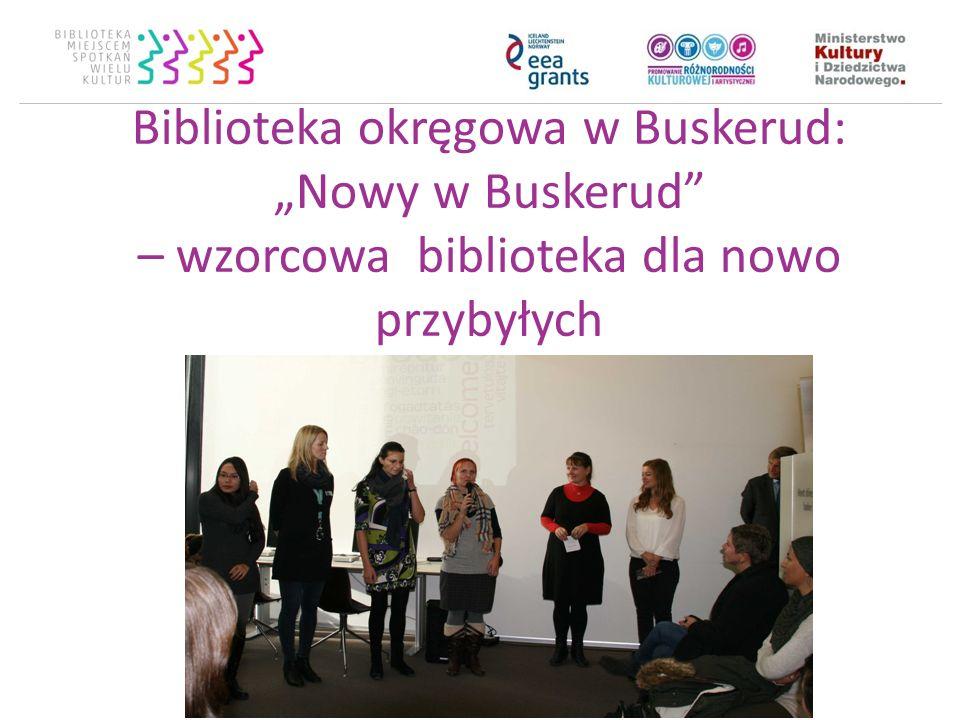 """Biblioteka okręgowa w Buskerud: """"Nowy w Buskerud"""