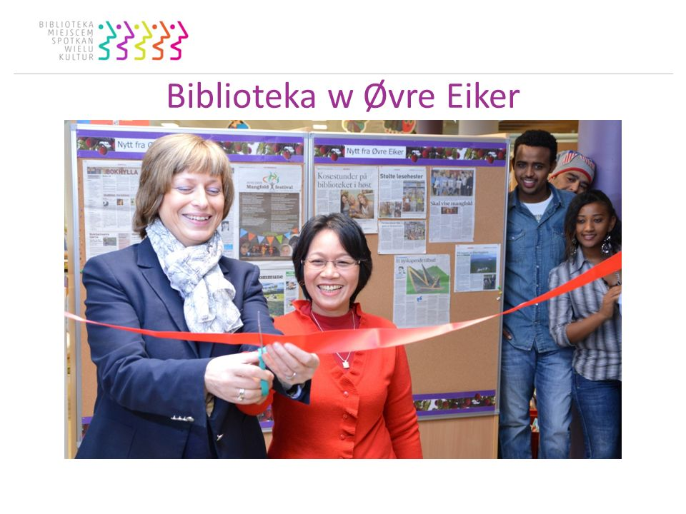 Biblioteka w Øvre Eiker