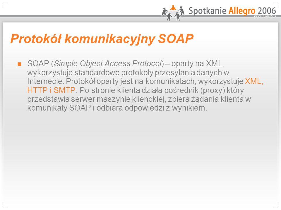 Protokół komunikacyjny SOAP