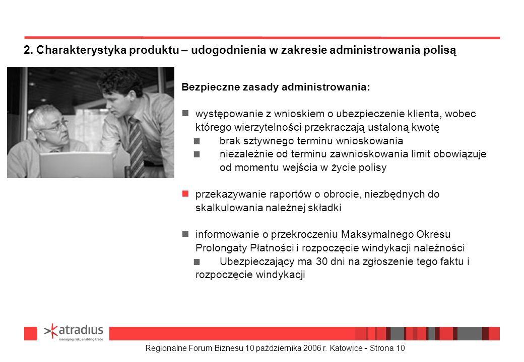 2. Charakterystyka produktu – udogodnienia w zakresie administrowania polisą