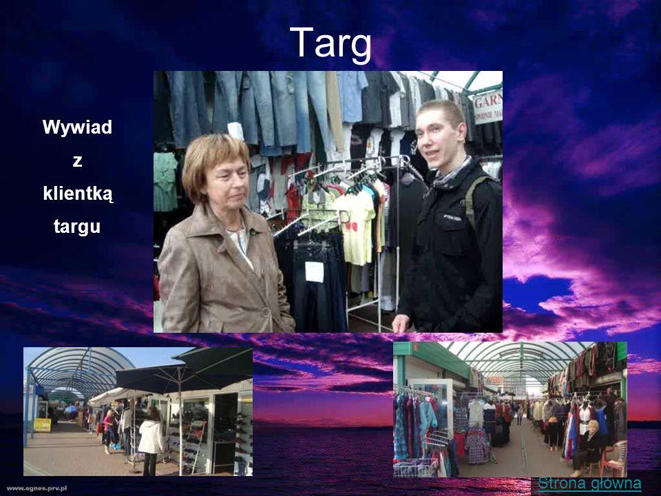 Targ Wywiad z klientką targu