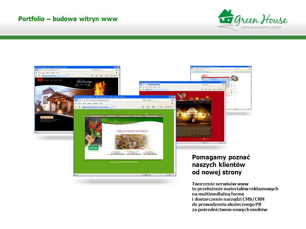 Portfolio – budowa witryn www