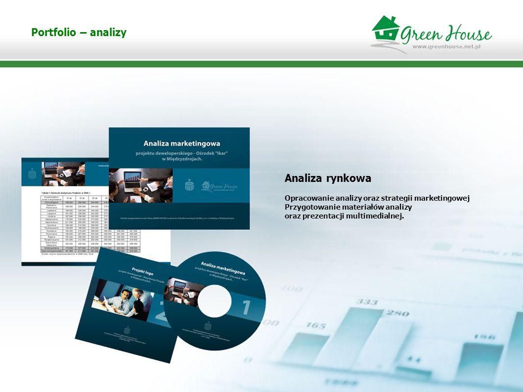 Portfolio – analizy Analiza rynkowa 4
