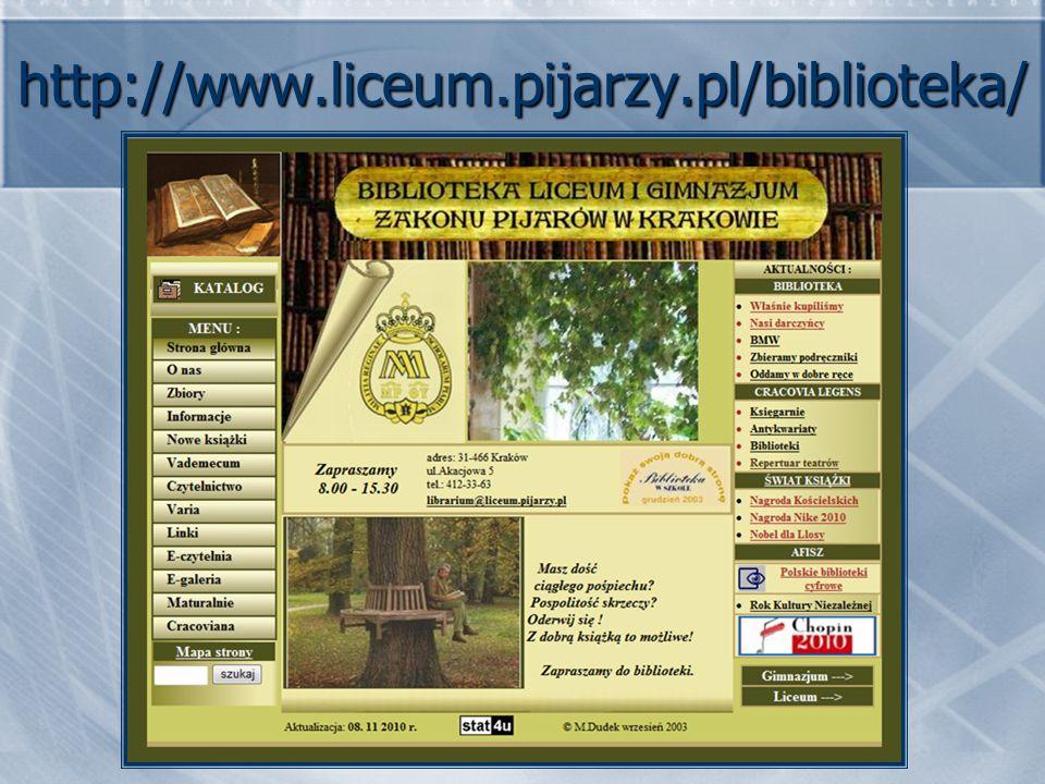 http://www.liceum.pijarzy.pl/biblioteka/