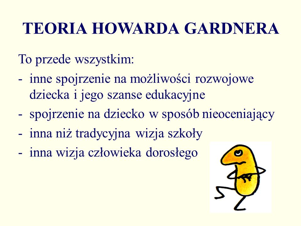 TEORIA HOWARDA GARDNERA