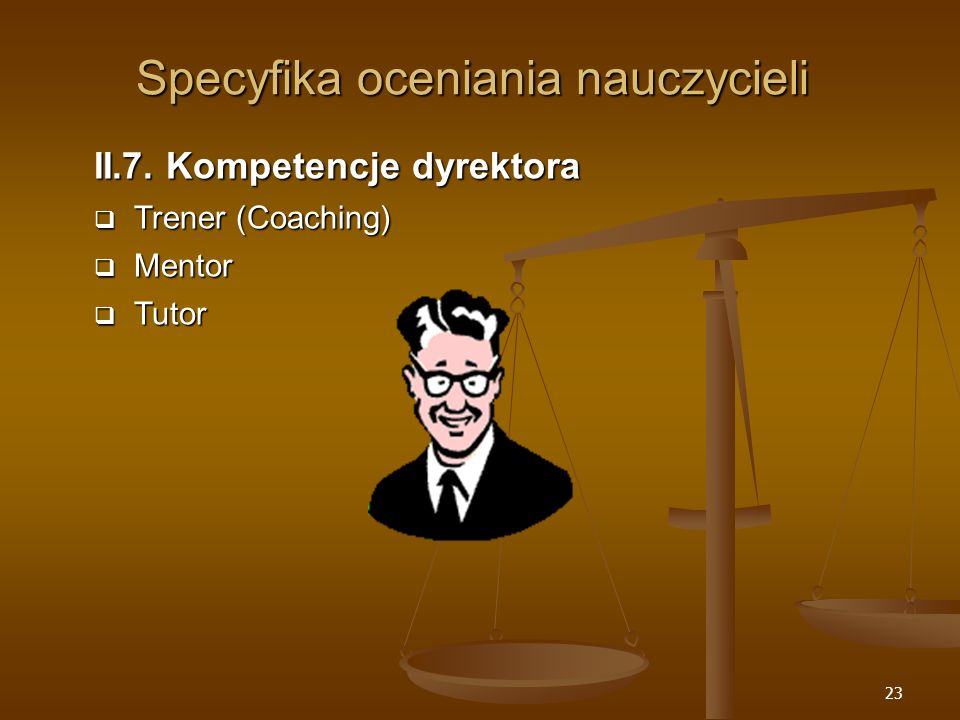 Specyfika oceniania nauczycieli