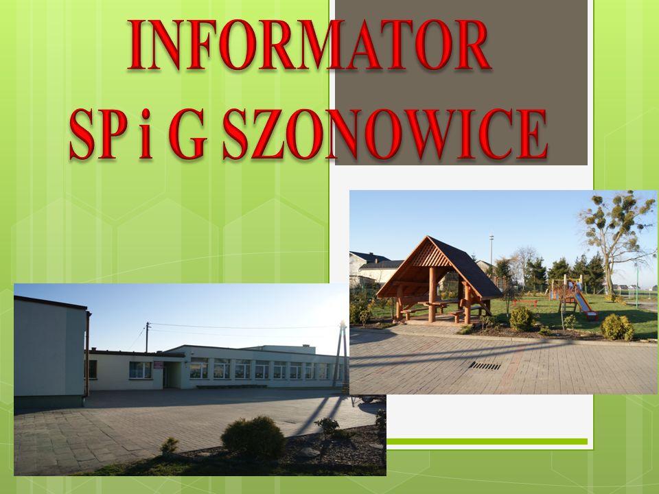 INFORMATOR SP i G SZONOWICE