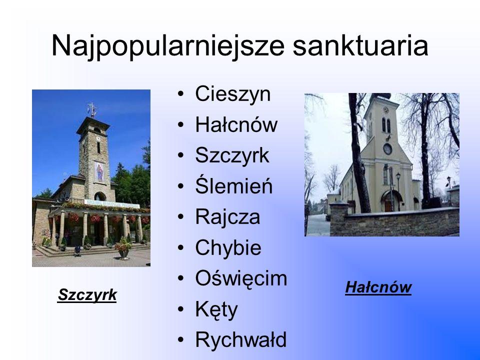 Najpopularniejsze sanktuaria