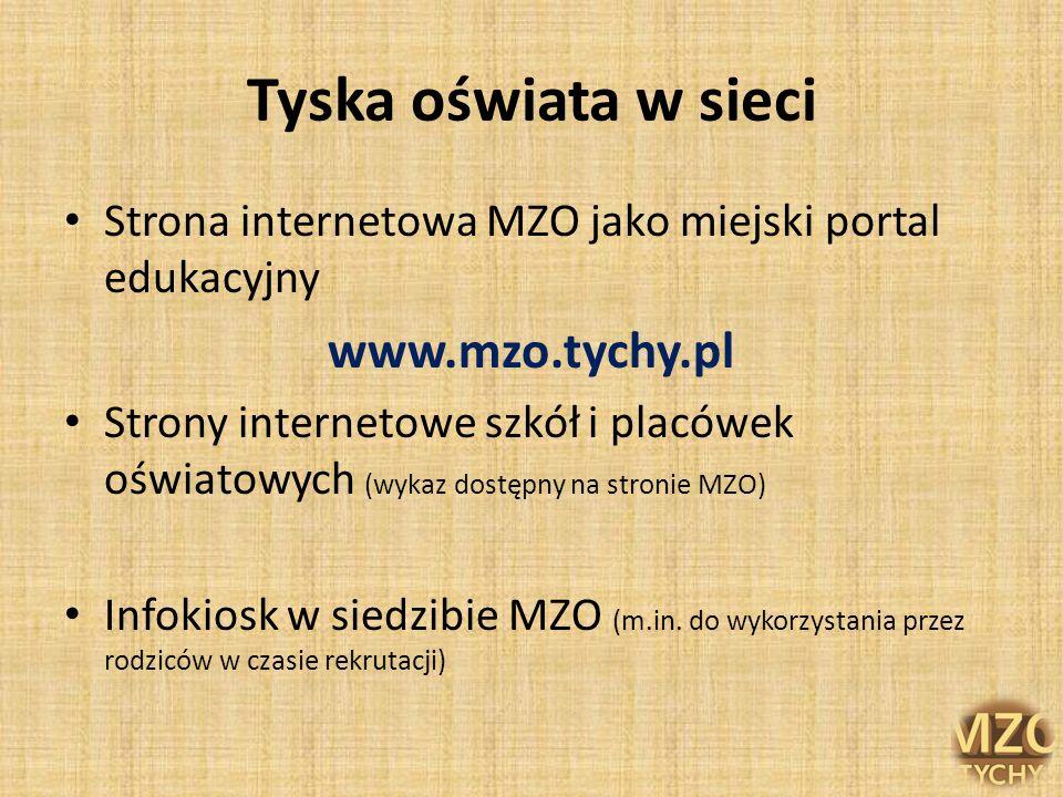 Tyska oświata w sieci www.mzo.tychy.pl