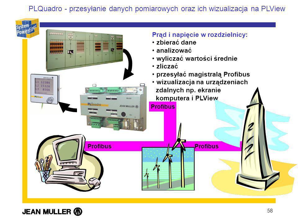 PLQuadro - przesyłanie danych pomiarowych oraz ich wizualizacja na PLView