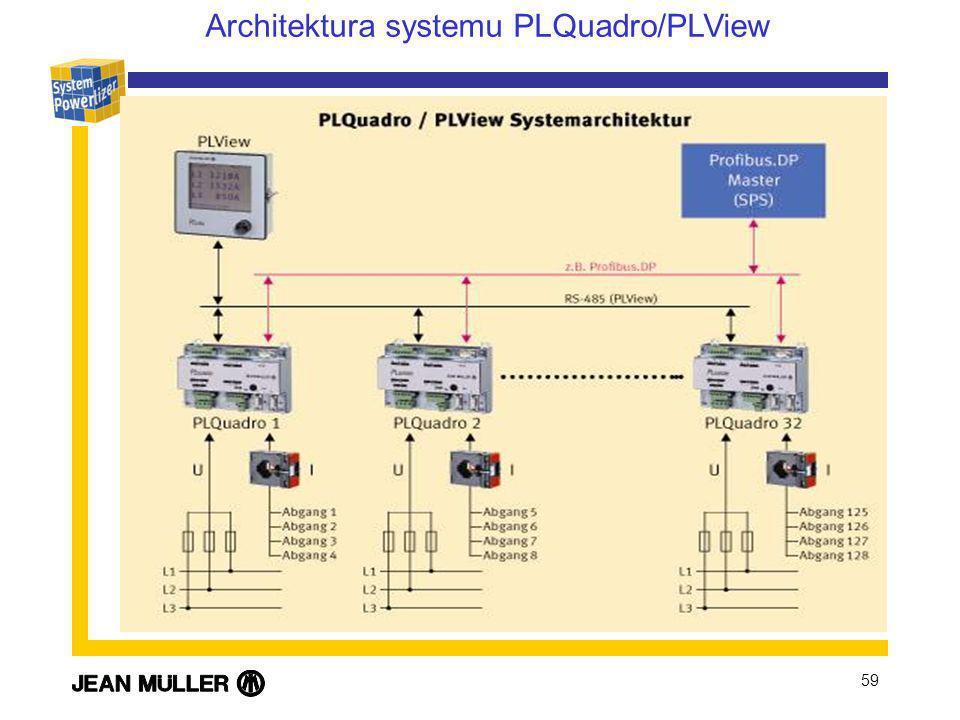 Architektura systemu PLQuadro/PLView