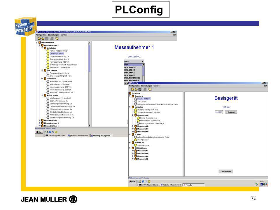PLConfig