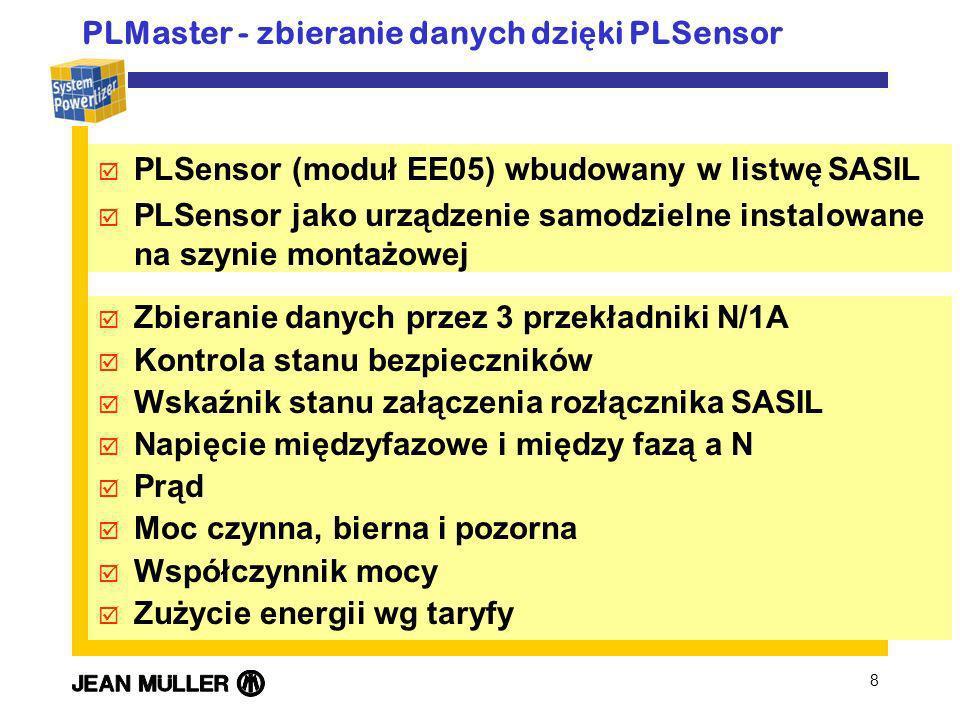 PLMaster - zbieranie danych dzięki PLSensor