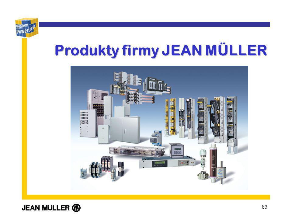 Produkty firmy JEAN MÜLLER