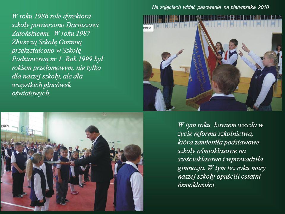 szkoły powierzono Dariuszowi Zatońskiemu. W roku 1987