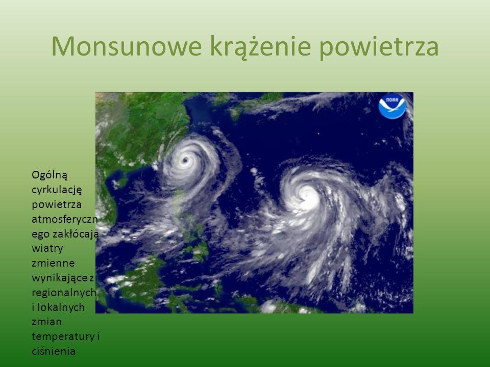 Monsunowe krążenie powietrza