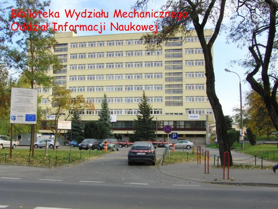 Biblioteka Wydziału Mechanicznego