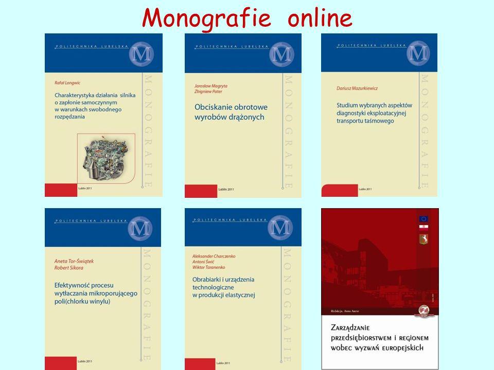 Monografie online