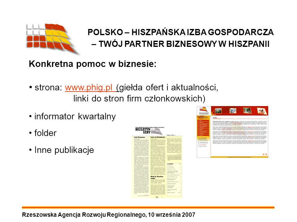 strona: www.phig.pl (giełda ofert i aktualności,