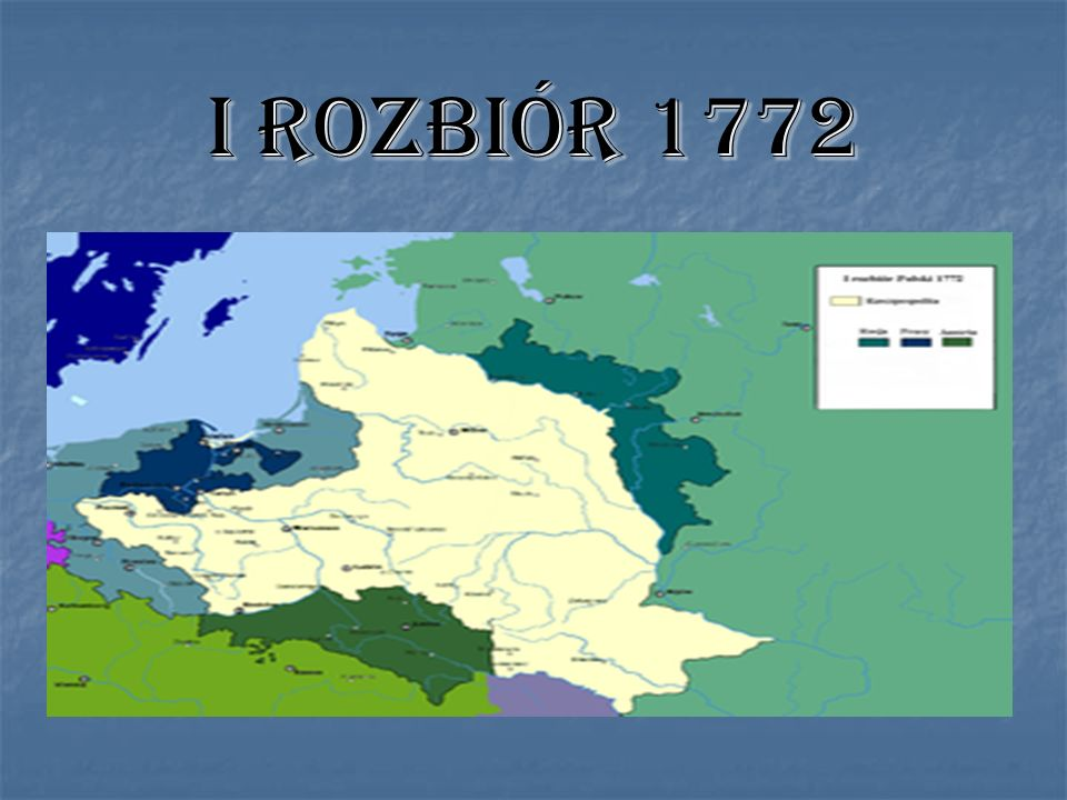 I ROZBIÓR 1772