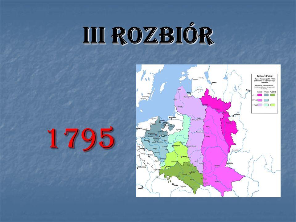 III ROZBIÓR 1795