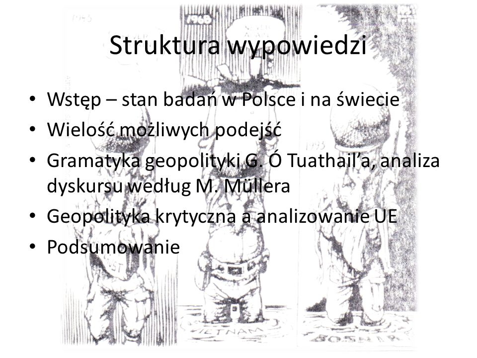 Struktura wypowiedzi Wstęp – stan badań w Polsce i na świecie