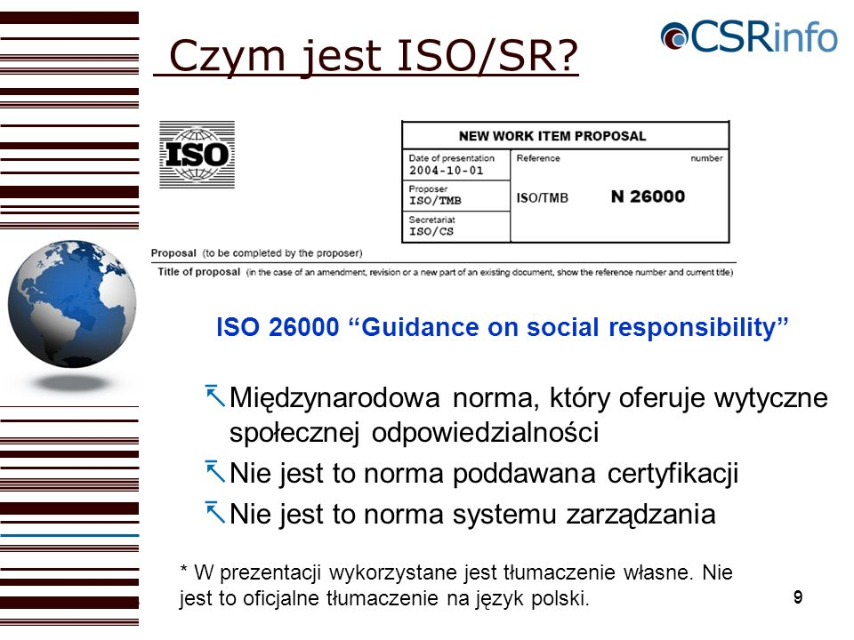 ISO 26000 Guidance on social responsibility