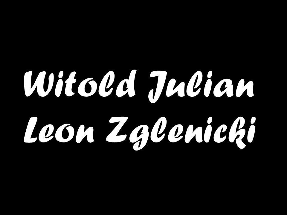 Witold Julian Leon Zglenicki