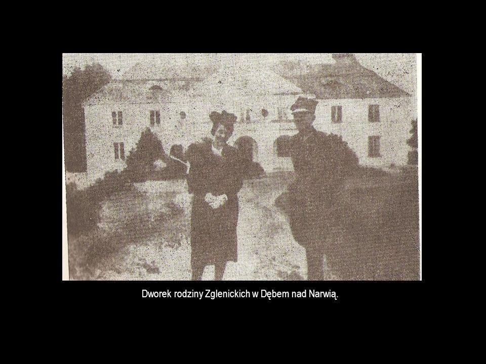 Dworek rodziny Zglenickich w Dębem nad Narwią.