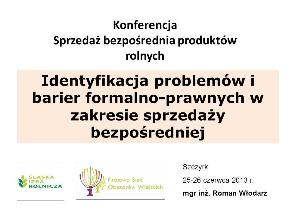 Konferencja Sprzedaż bezpośrednia produktów rolnych