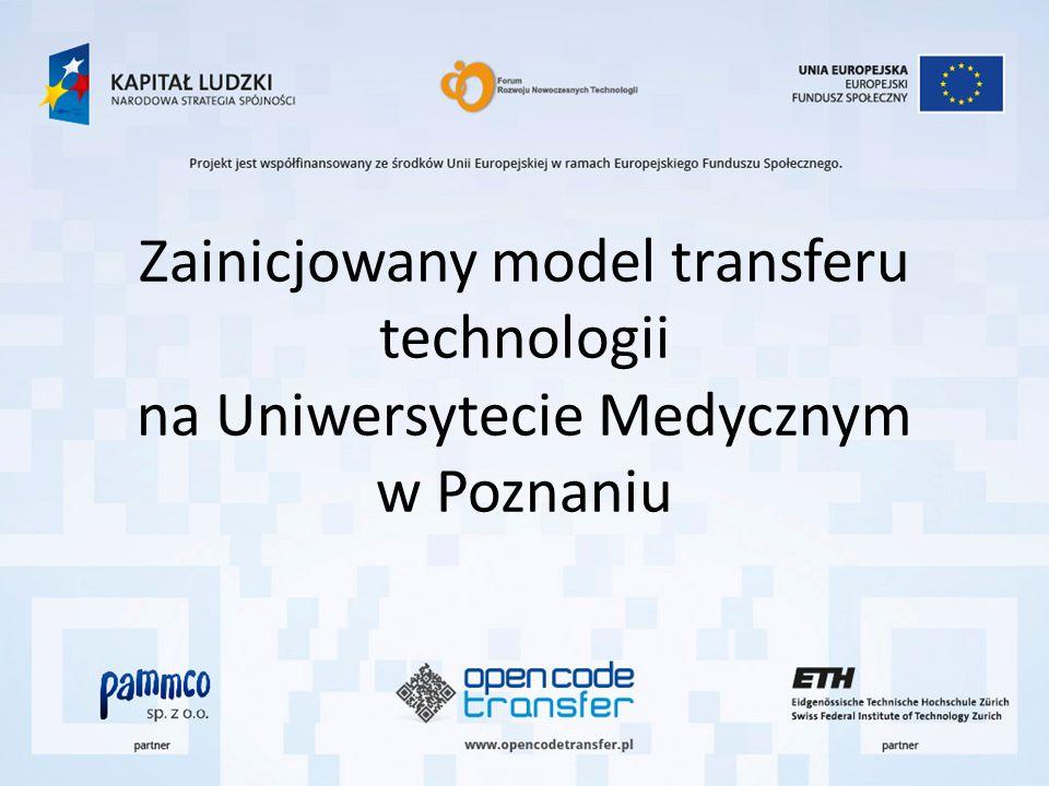 Zainicjowany model transferu technologii na Uniwersytecie Medycznym w Poznaniu
