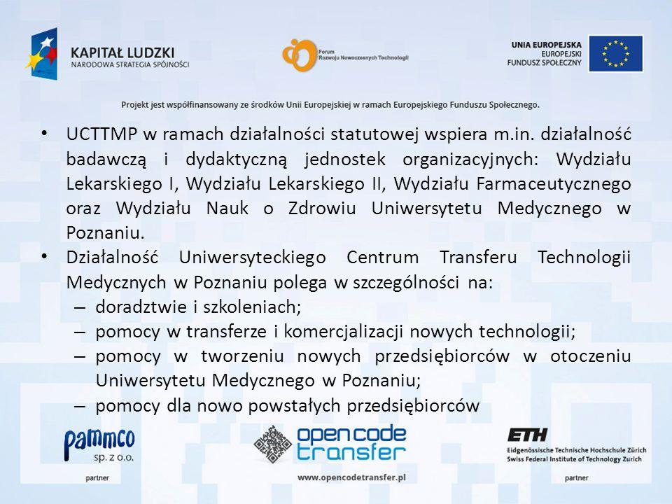 UCTTMP w ramach działalności statutowej wspiera m. in