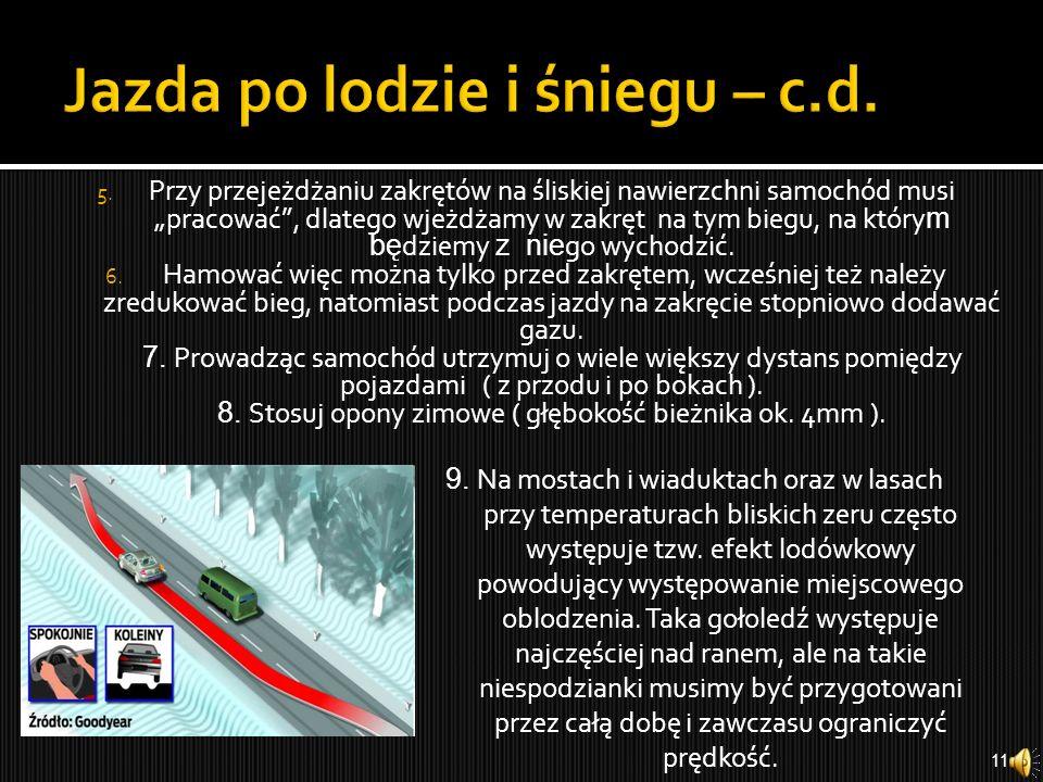 Jazda po lodzie i śniegu – c.d.