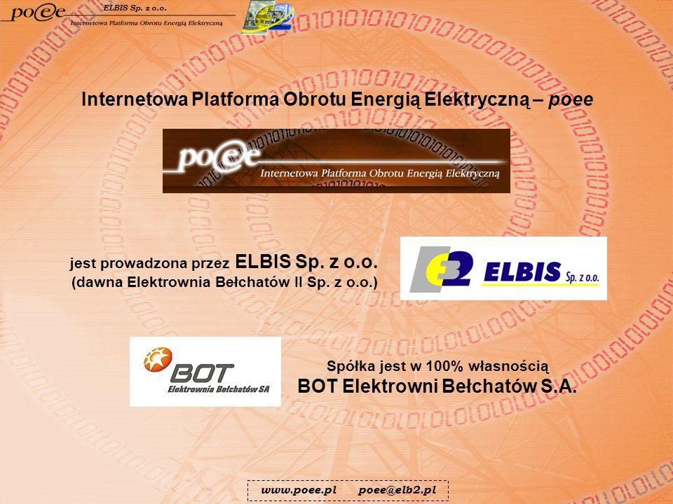 Spółka jest w 100% własnością BOT Elektrowni Bełchatów S.A.