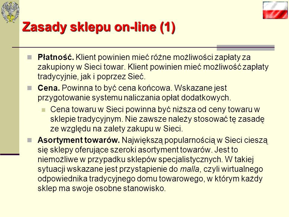 Zasady sklepu on-line (1)