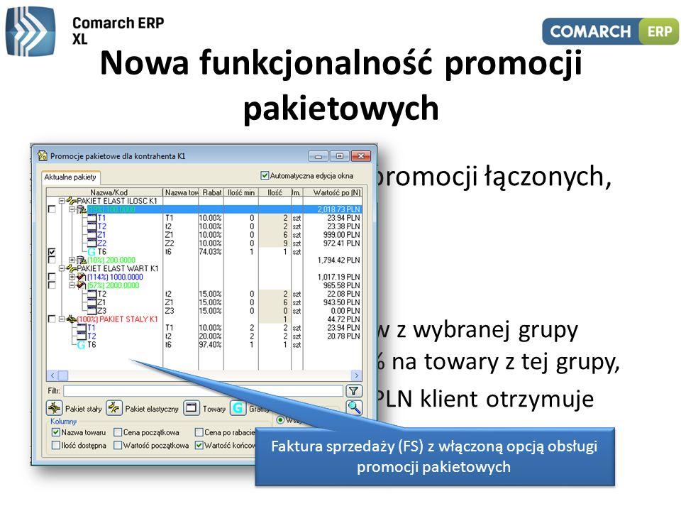 Nowa funkcjonalność promocji pakietowych