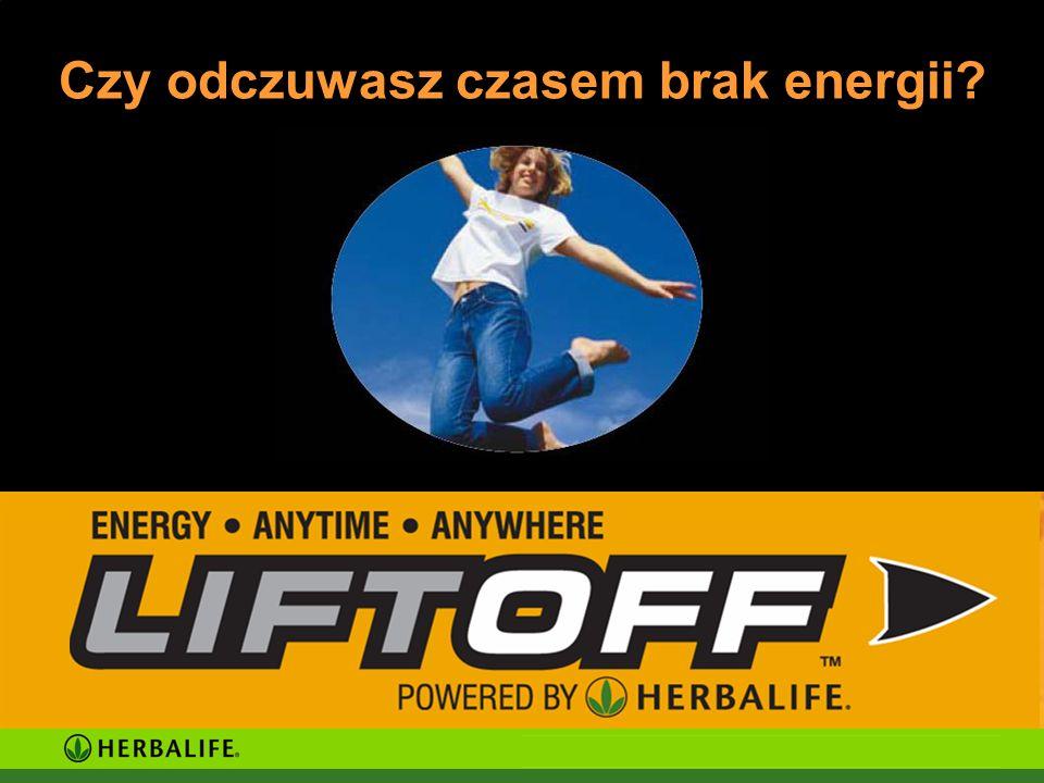 Czy odczuwasz czasem brak energii