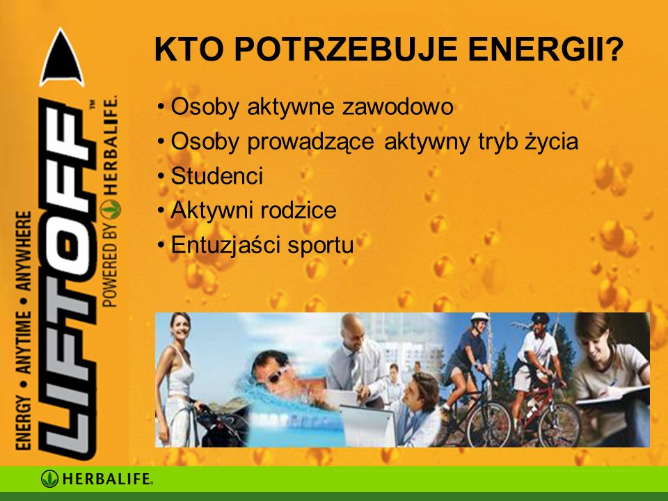 KTO POTRZEBUJE ENERGII