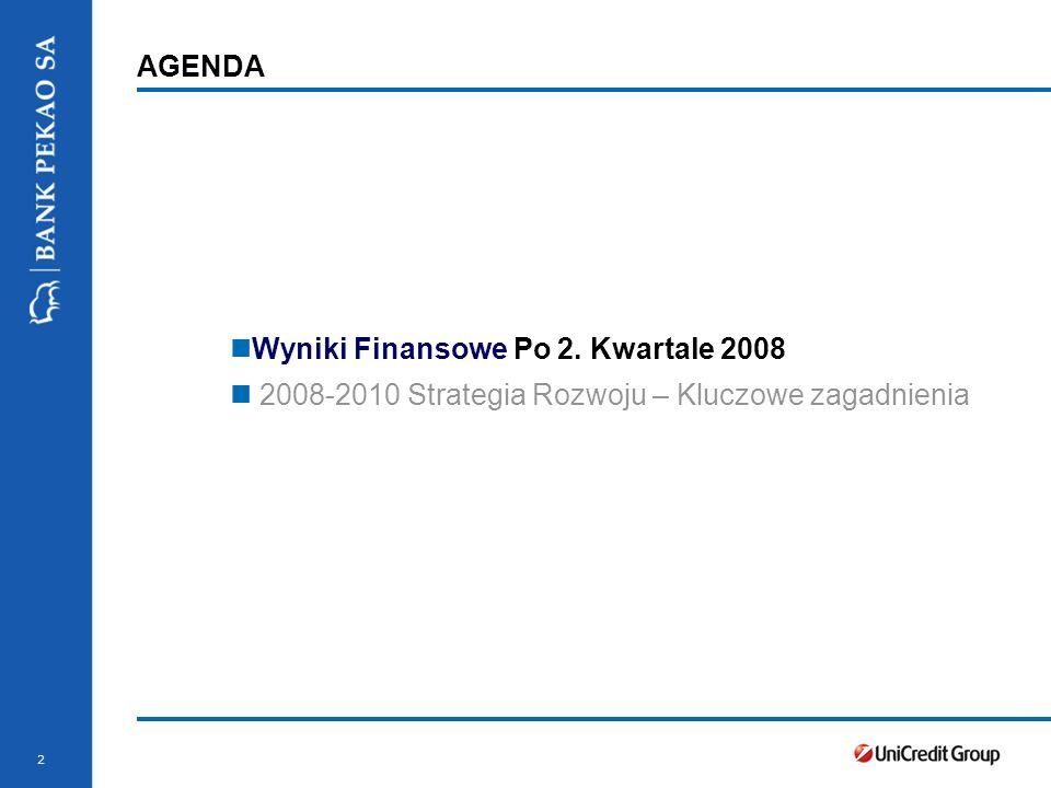 Wyniki Finansowe Po 2. Kwartale 2008