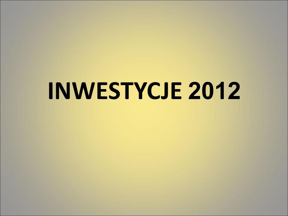 INWESTYCJE 2012 12