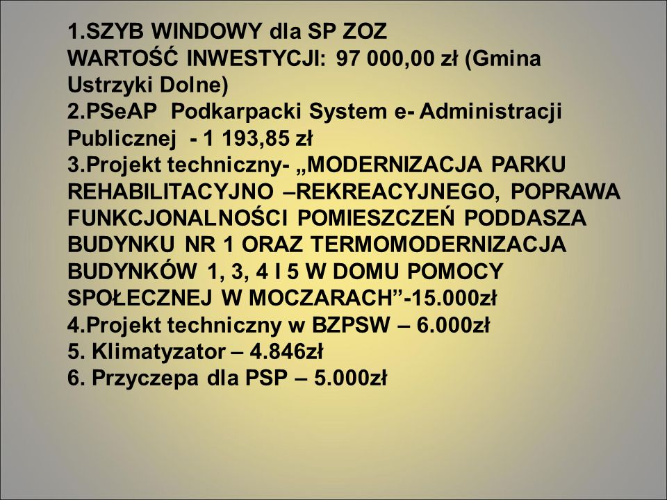 2.PSeAP Podkarpacki System e- Administracji Publicznej - 1 193,85 zł