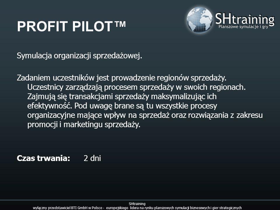 PROFIT PILOT™ Symulacja organizacji sprzedażowej.