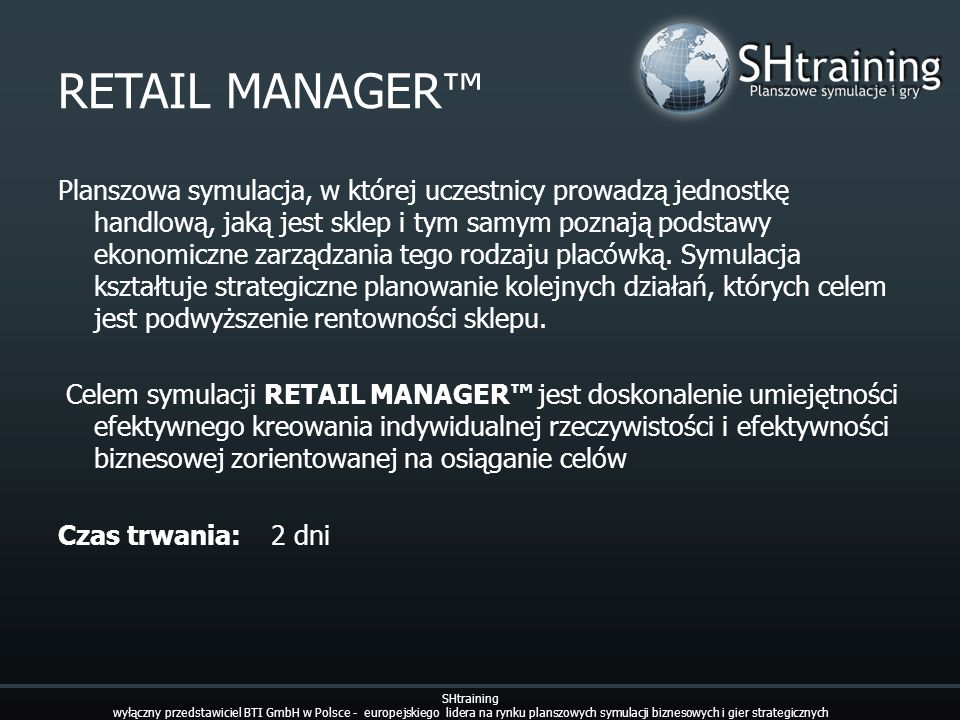 RETAIL MANAGER™