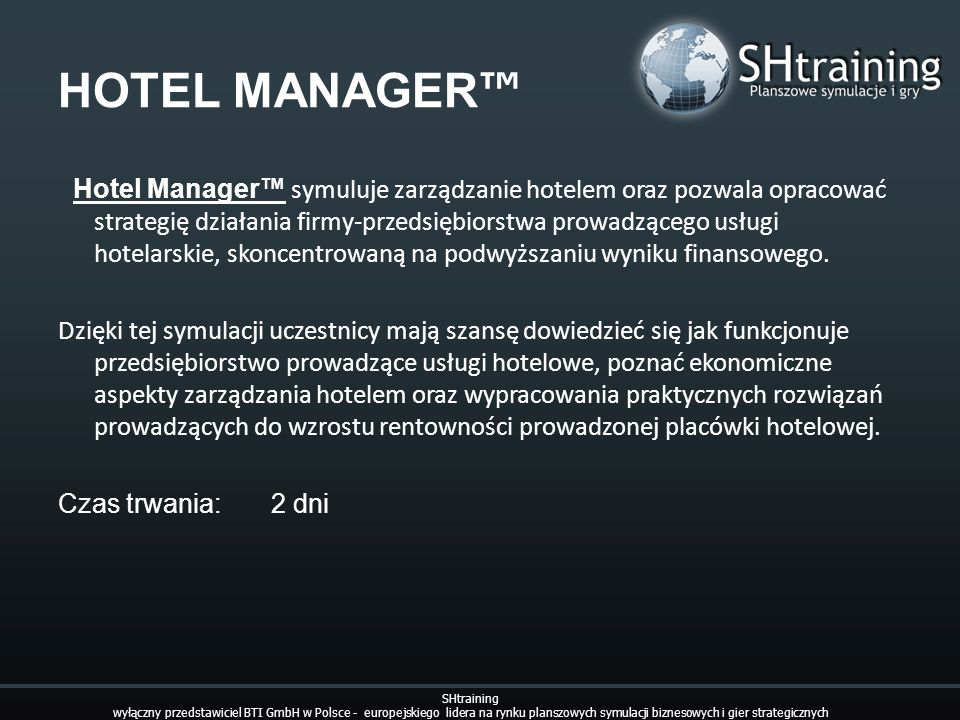 HOTEL MANAGER™