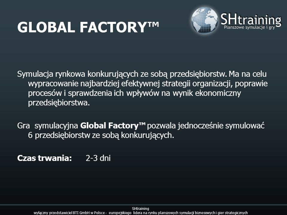 GLOBAL FACTORY™