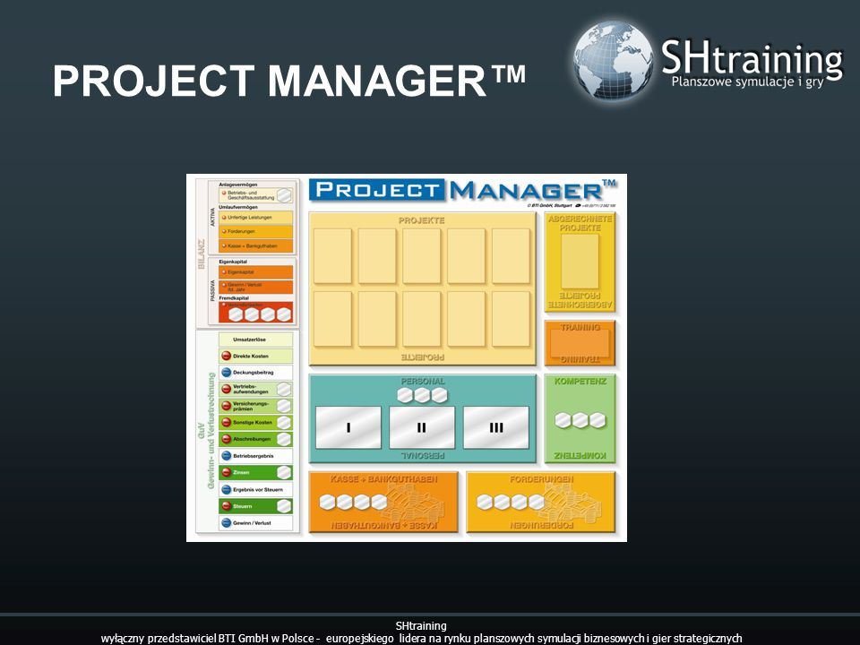 PROJECT MANAGER™ SHtraining