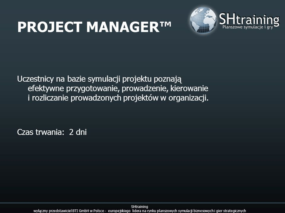 PROJECT MANAGER™